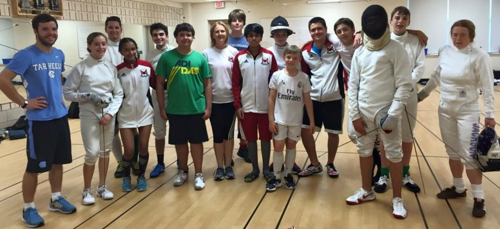 2016 Competative Fencing Camp