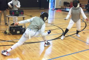 North Carolina Fencing League Competition