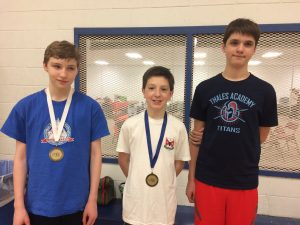 Thales Academy NC Fencing League Winners